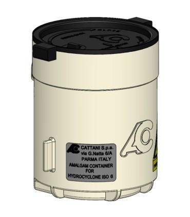 BOITE AMALGAME HYDROCYCLONE ISO6 MICRO-SMART (10 CM)